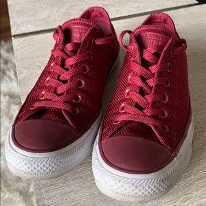 Converse All Star Maroon Women's 8